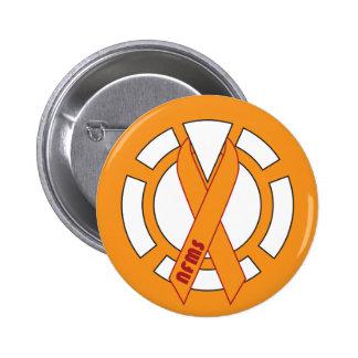 Orange Lantern Button