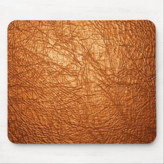 orange leather texture mouse pads