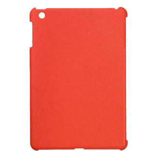 Orange Leather texture pattern background template Cover For The iPad Mini