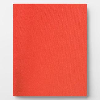 Orange Leather texture pattern background template Plaque