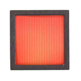 Orange LED lamp Jewelry Box