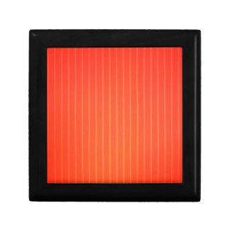 Orange LED lamp Keepsake Box