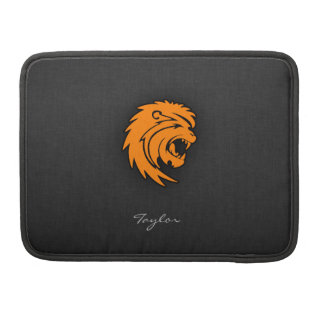 Orange Leo MacBook Pro Sleeves