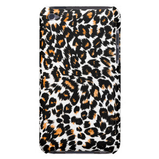 Orange Leopard Spots Case-Mate iPod Touch Case