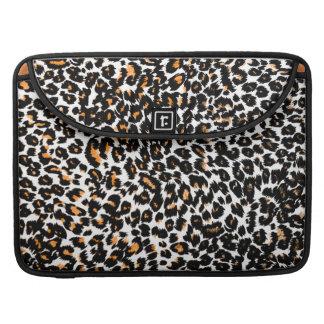 Orange Leopard Spots MacBook Pro Sleeve