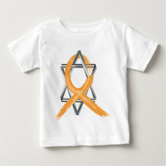Orange Leukemia Survivor Ribbon Baby T-Shirt