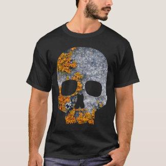 orange lichen granite skull T-Shirt
