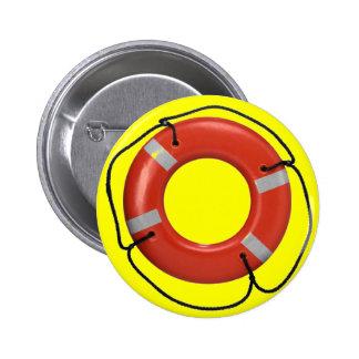 ORANGE LIFE RING yellow Pins