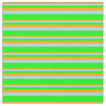 [ Thumbnail: Orange, Light Blue, and Lime Colored Pattern Fabric ]