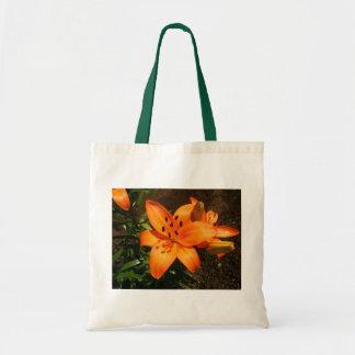 Orange Lilies Bag
