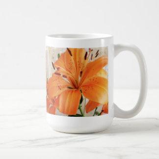 Orange Lilies: Flowers: Coffee Mug