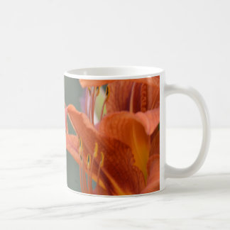 Orange Lilly flower Coffee Mug