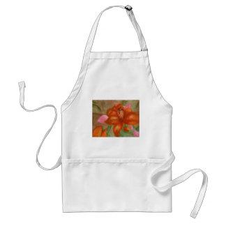 Orange Lily, Apron