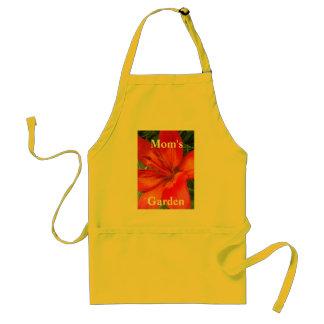 Orange Lily Apron-customize Adult Apron