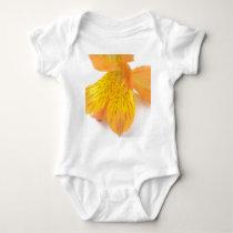 Orange Lily Baby Bodysuit