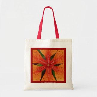 Orange Lily Bag