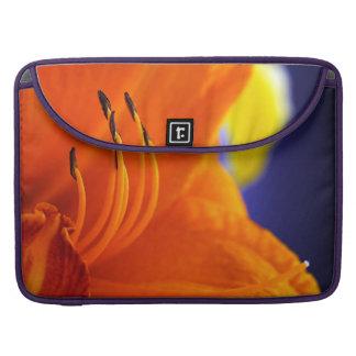 Orange Lily Bouquet MacBook Pro Sleeve