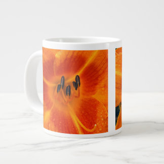 Orange Lily Giant Coffee Mug
