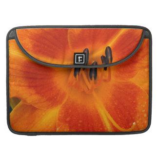 Orange Lily MacBook Pro Sleeve