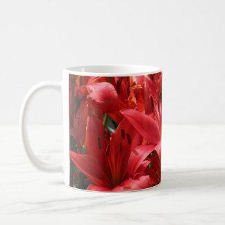 Orange Lily Mug