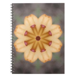 Orange Lily Pistils Note Books