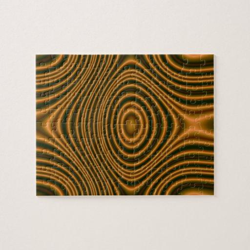 Orange line pattern puzzles