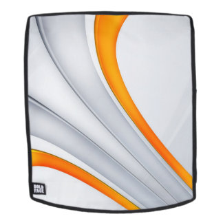 orange Lines Backpack