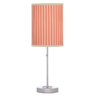 Orange Lines Table Lamp