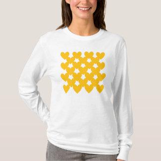 Orange Linked Hearts T-Shirt