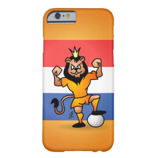 Orange lion soccer hero barely there iPhone 6 case