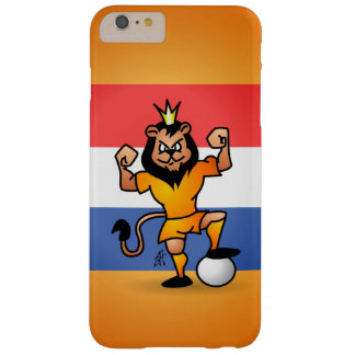 Orange lion soccer hero barely there iPhone 6 plus case