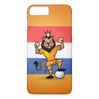 Orange lion soccer hero iPhone 8 plus/7 plus case