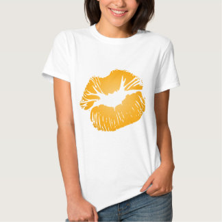 Orange Lips T Shirt