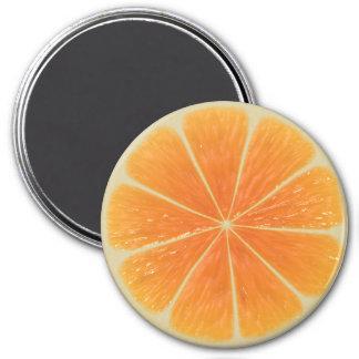 Orange Locker Magnets, Refrigerator Back to school Magnet