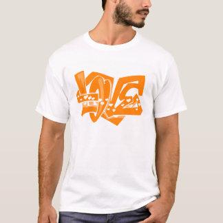 Orange Love Graffiti T-Shirt