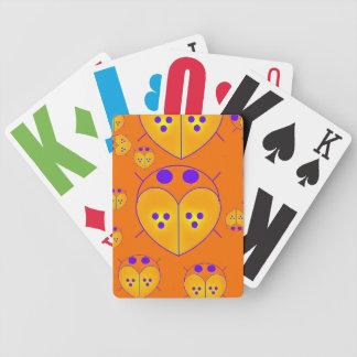 Orange Lovebugs Love bugs big card deck