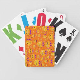 Orange Lovebugs Love bugs card deck