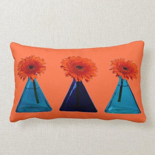 Orange Lumbar Pillow