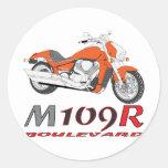 Orange M109R Sticker