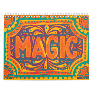Orange Magic Calendar