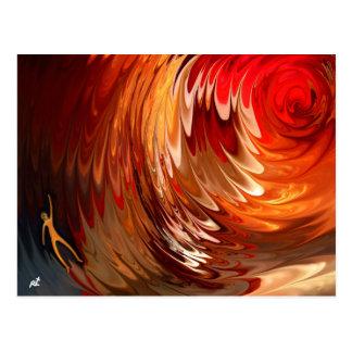 Orange Man by rafi talby Post Card