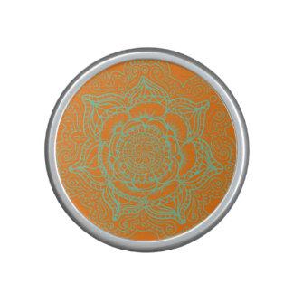 Orange Mandala Singular Speaker