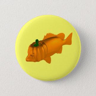 Orange Mangrove Jack Button