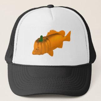 Orange Mangrove Jack Trucker Hat
