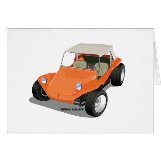 Orange Manx Only Card