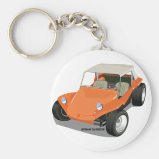 Orange Manx Only Keychain