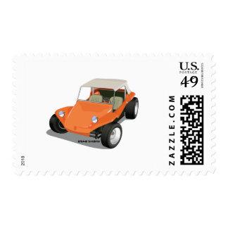 Orange Manx Only Postage