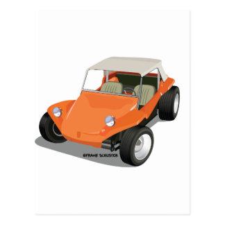 Orange Manx Only Post Card