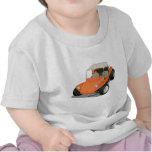 Orange Manx Only T-shirt