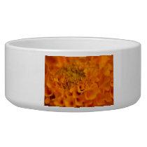 Orange Marigold Flower Bowl